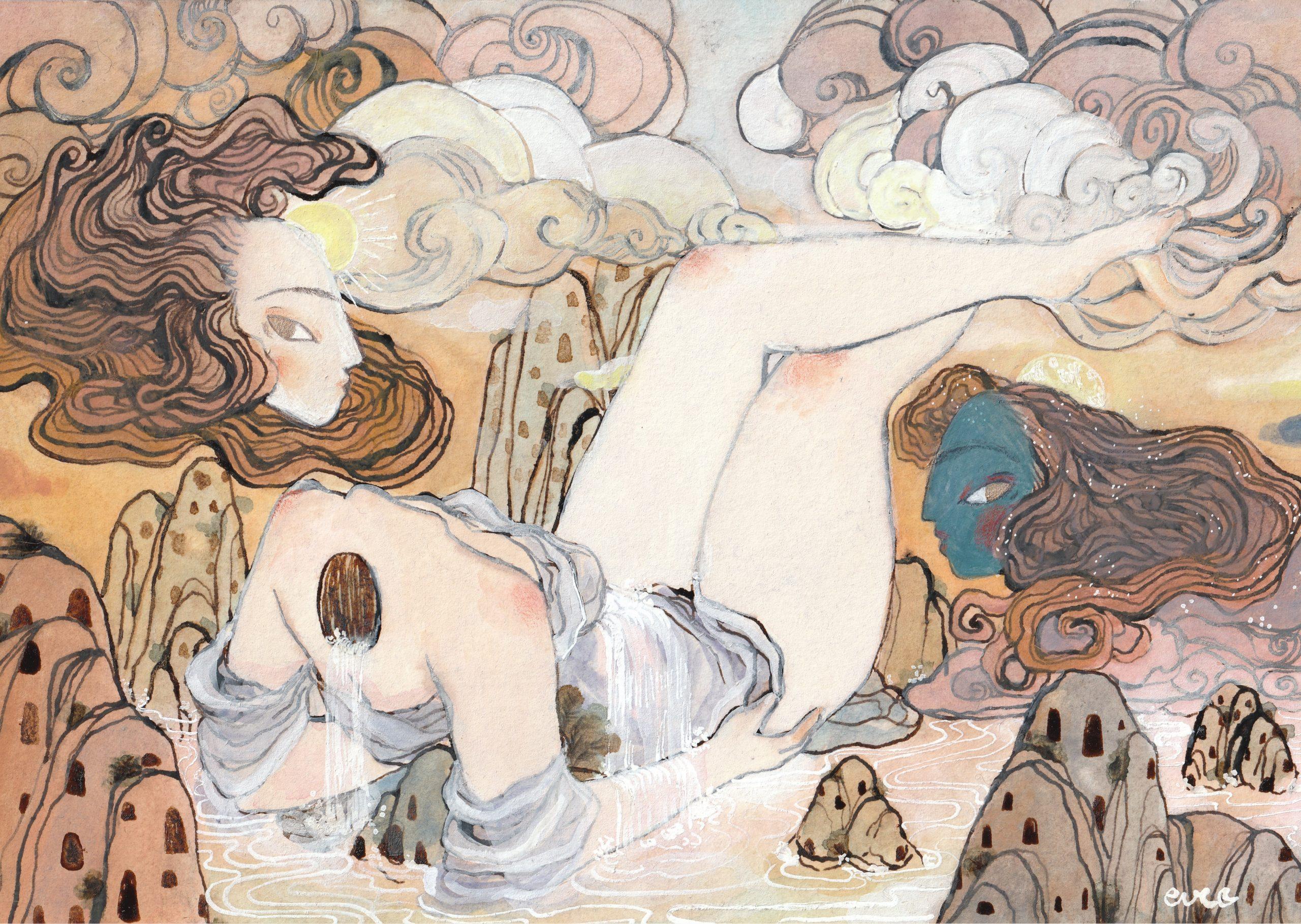 """""""Mère et Nuit"""" by eve pierrelune"""